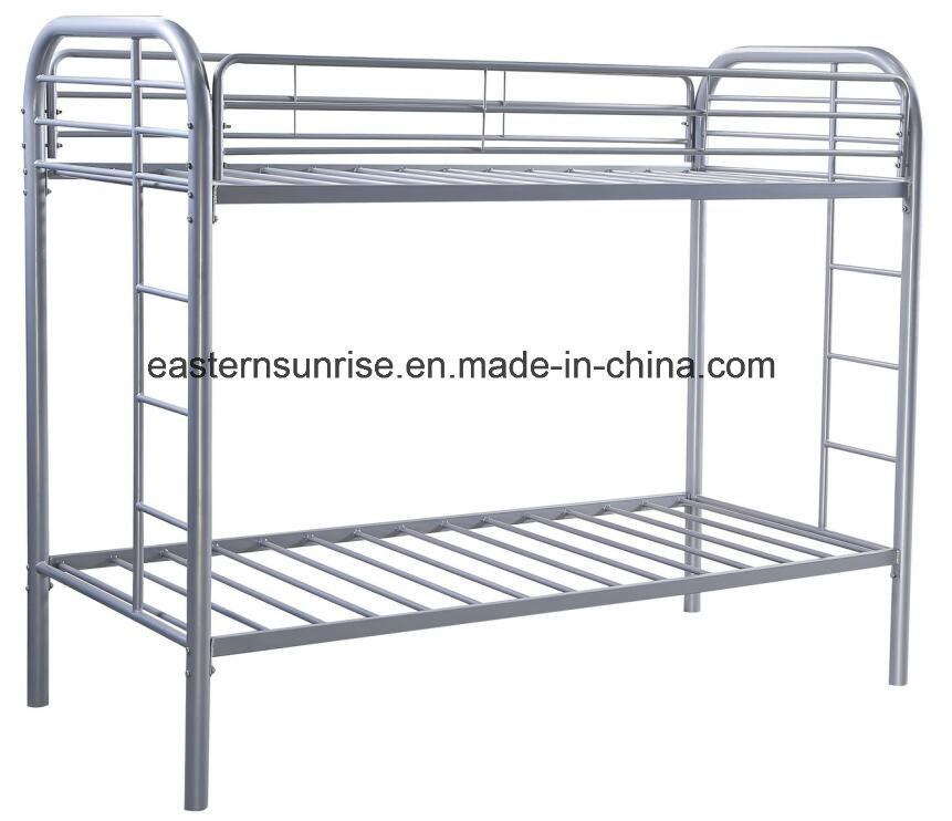 China Manufacturer Supply Modern Simple Cheap Metal Bunk Bed
