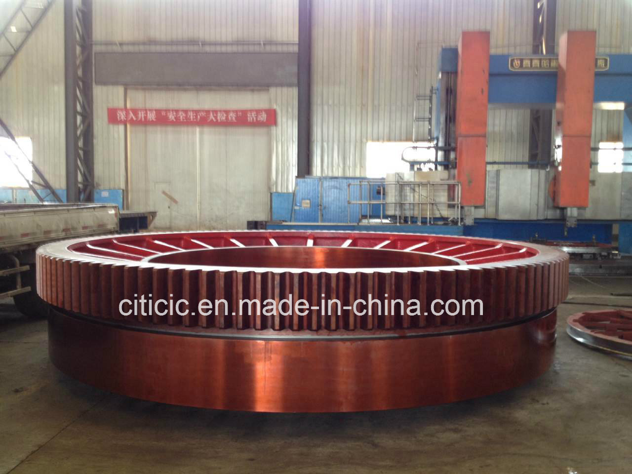 Integrated Large 45 Module Gear Ring Fro Mining Mills