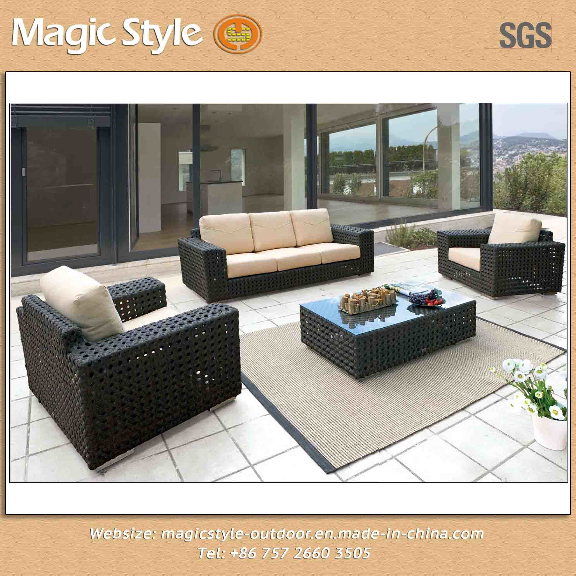 china open weaving sofa outdoor sofa big size sofa hotel