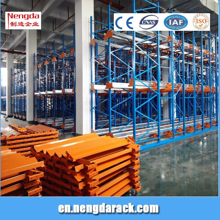 Automatic Pallet Shuttle Storage Rack Shuttle Rack