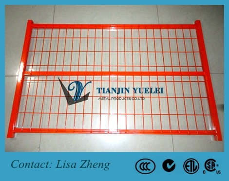 High Visibility Welded Wire Mesh Temporary Fencing