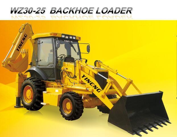 Wz30-25-3yineng Backhoe Wheel Loader EPA Ce Yineng