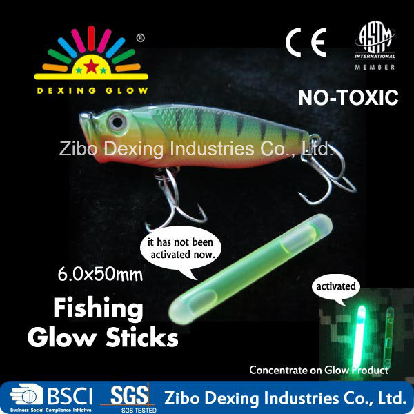 6.0X50mm Glow Fishing, Fishing Tools in The Dark