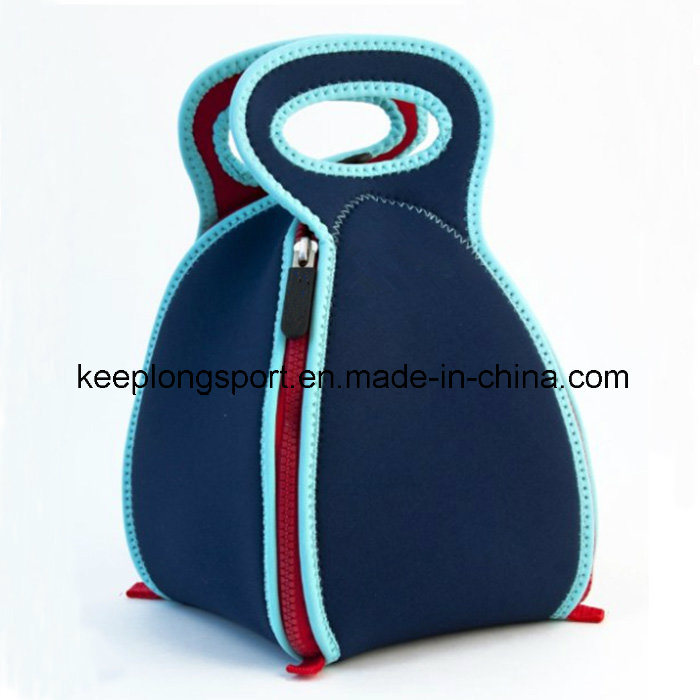 2016 New Design Fashionable Neoprene Folded Lunch Bag