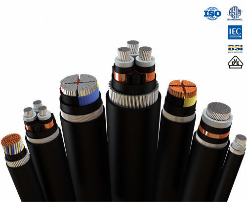 Multi- Core XLPE Insualted Copper Wire Armour 11kv Aluminum Power Cable