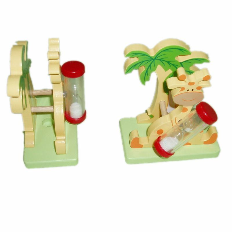 Funny Promotion Wood Cartoon Toothbrush Holder (JMC-221L)