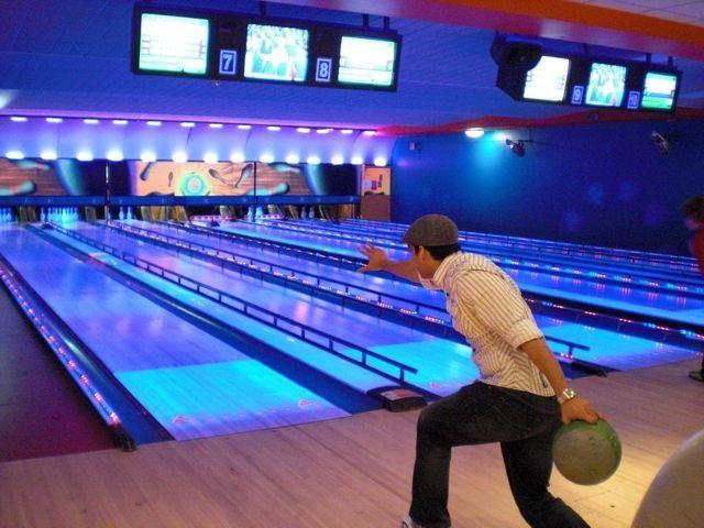 Luminous Bowling Lane Bowling Lane