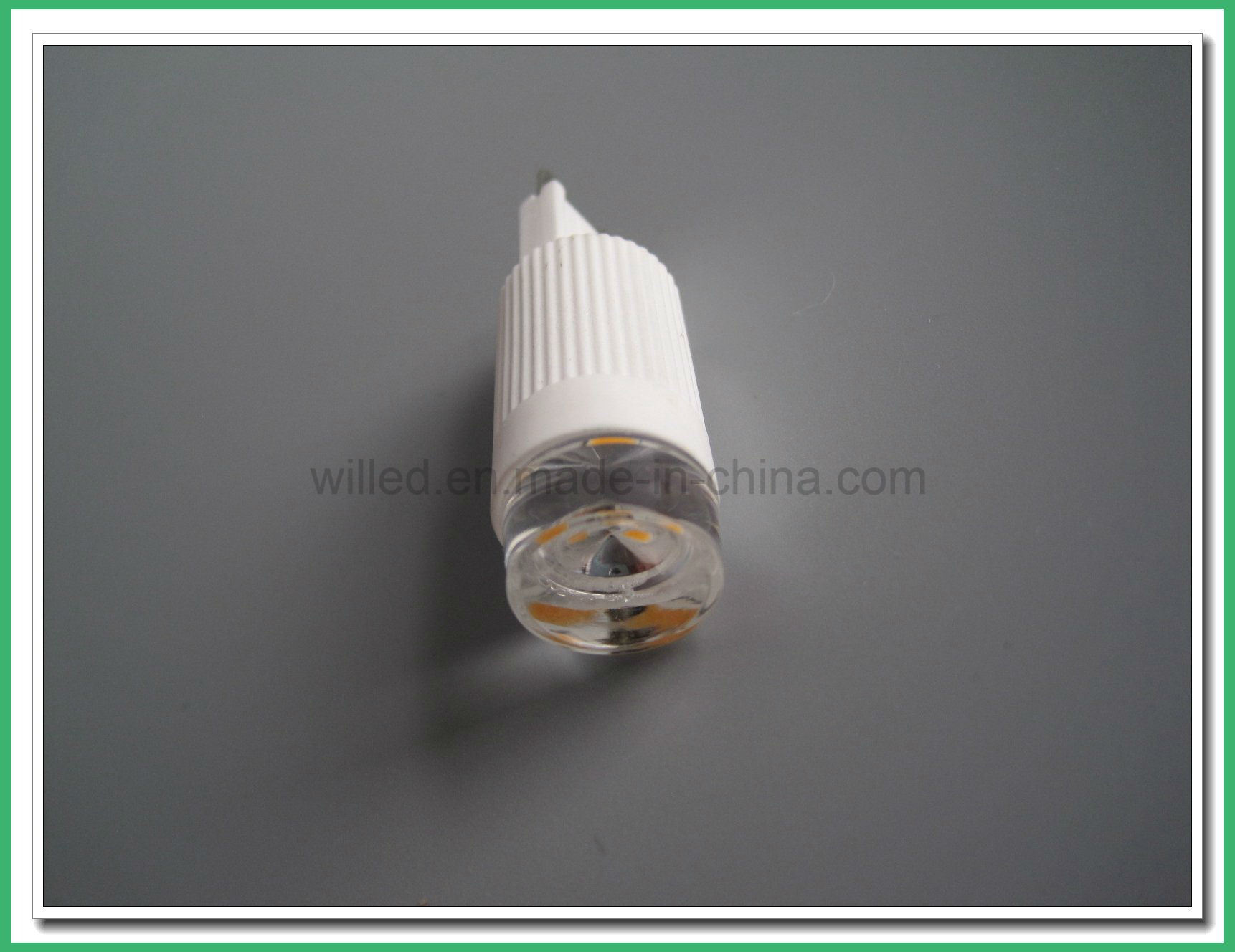 Decorative 2.5W/3W Ceramic PC Dimmable LED G9 Bulb Philip Type