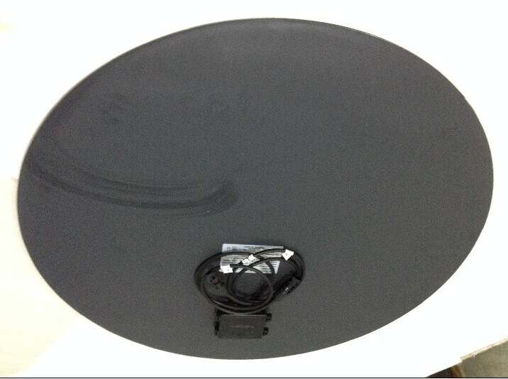 Round 50W Black Solar Panel for Solar Street Light.