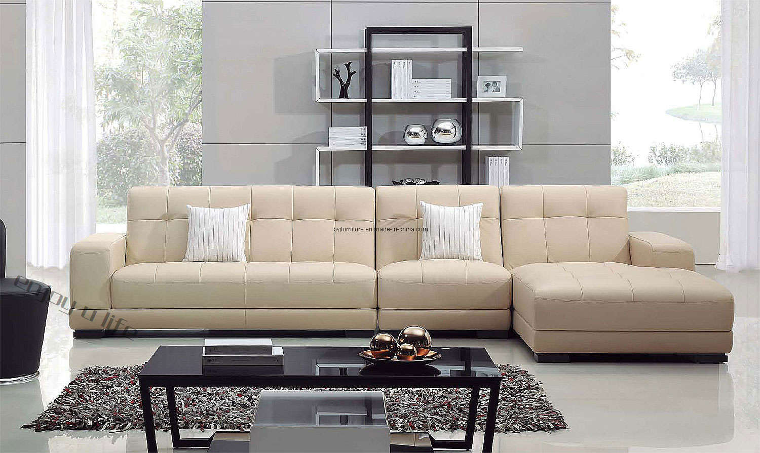 China modern sofa living room sofa f111 china modern for Living room sofas