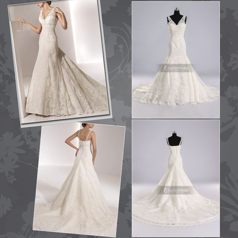 Gorgeous Wedding Dress Bridal Gown All Colors LB0213