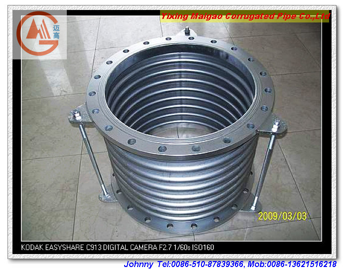 China stainless steel bellow compensator expansion