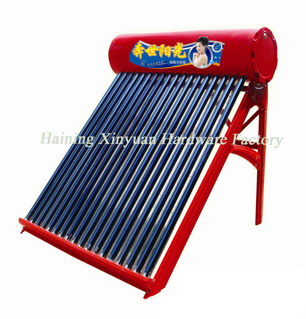 thesis solar water heater Solar water heating system with latent heat storage materials: a review integrating solar energy collection system into the building solar water heater is getting popularity [22], [23] since they are relatively inexpensive and simple to fabricate and.