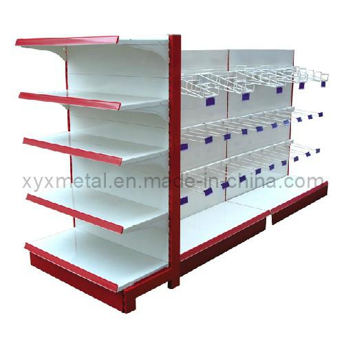 Promotion Steel Frame Supermarket Hanging Goods Display Shelving Rarks