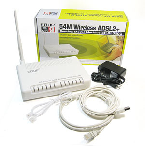 Wireless Router Ethernet on Ethernet Port  Ep Dl520g    China Wireless 1 Port Router Wireless Adsl