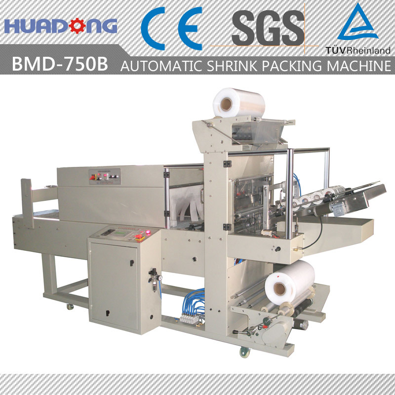 Automatic Tape Shrink Packaging Machine