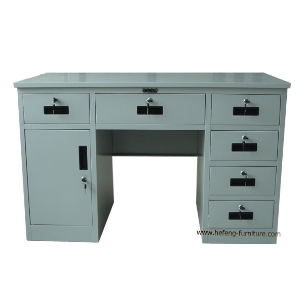 China Metal Computer Desk (JF-D011) - China Office Table, Office Desk