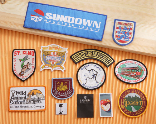 A01 Woven Badges