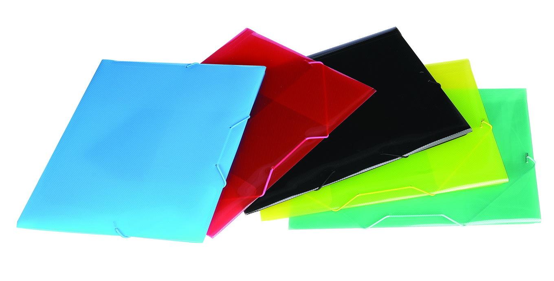 Different Color Elastic File Folder/Transparent Color File Folder