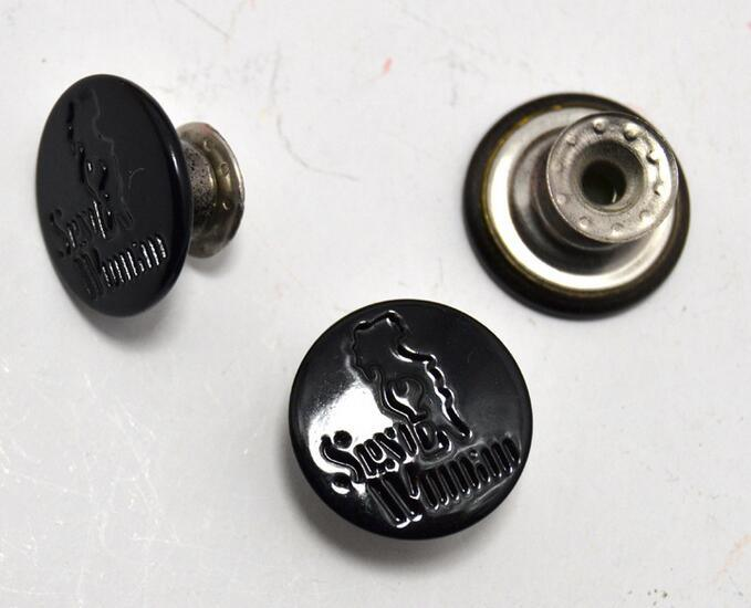 Wholesale Garment Clothing Accessories Lead and Nickel Free Jeans Button