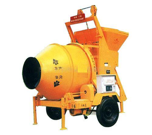 Diesel Engine Concrete Mixer Two-Wheels 260L/350L