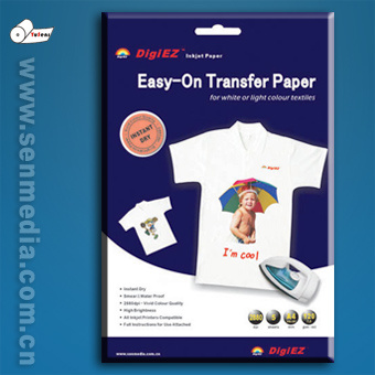Smukt Smil Pige T Shirt Printing Transfer Paper How To