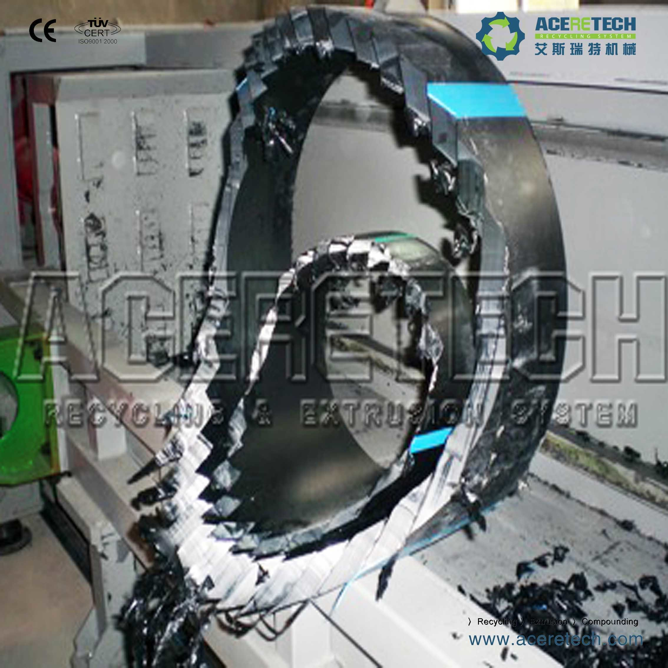 Single Shaft Pipe Shredder Machine