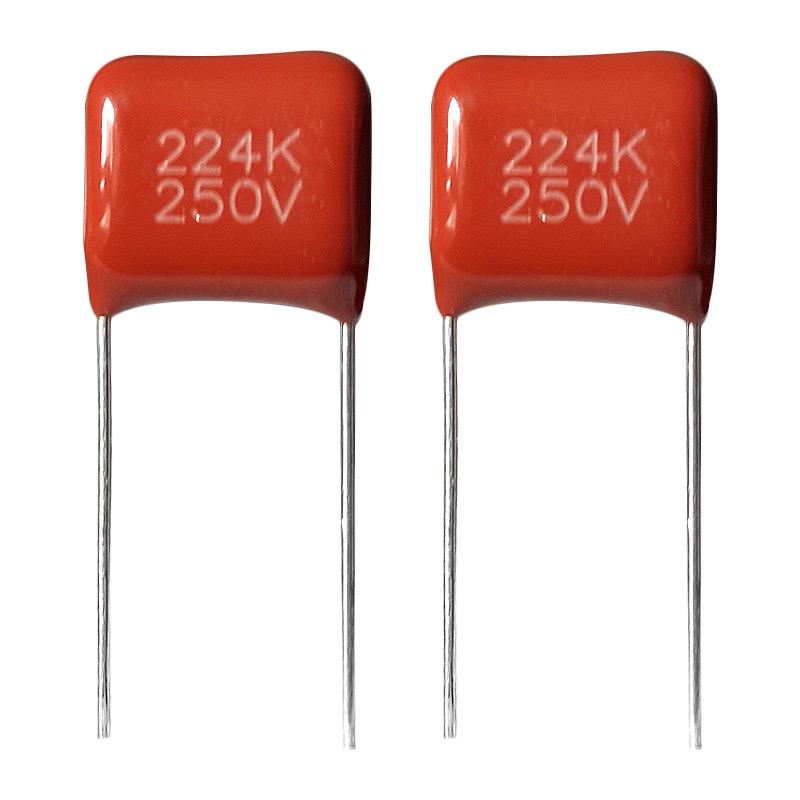 DIP Metallized Polypropylene Film Capacitor Cbb21
