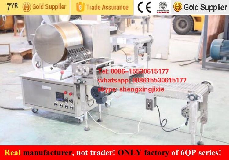 Auto Injera Making Machine/Injera Machine/Crepe Machinery/Ethiopia Injera Production Line (real factory)
