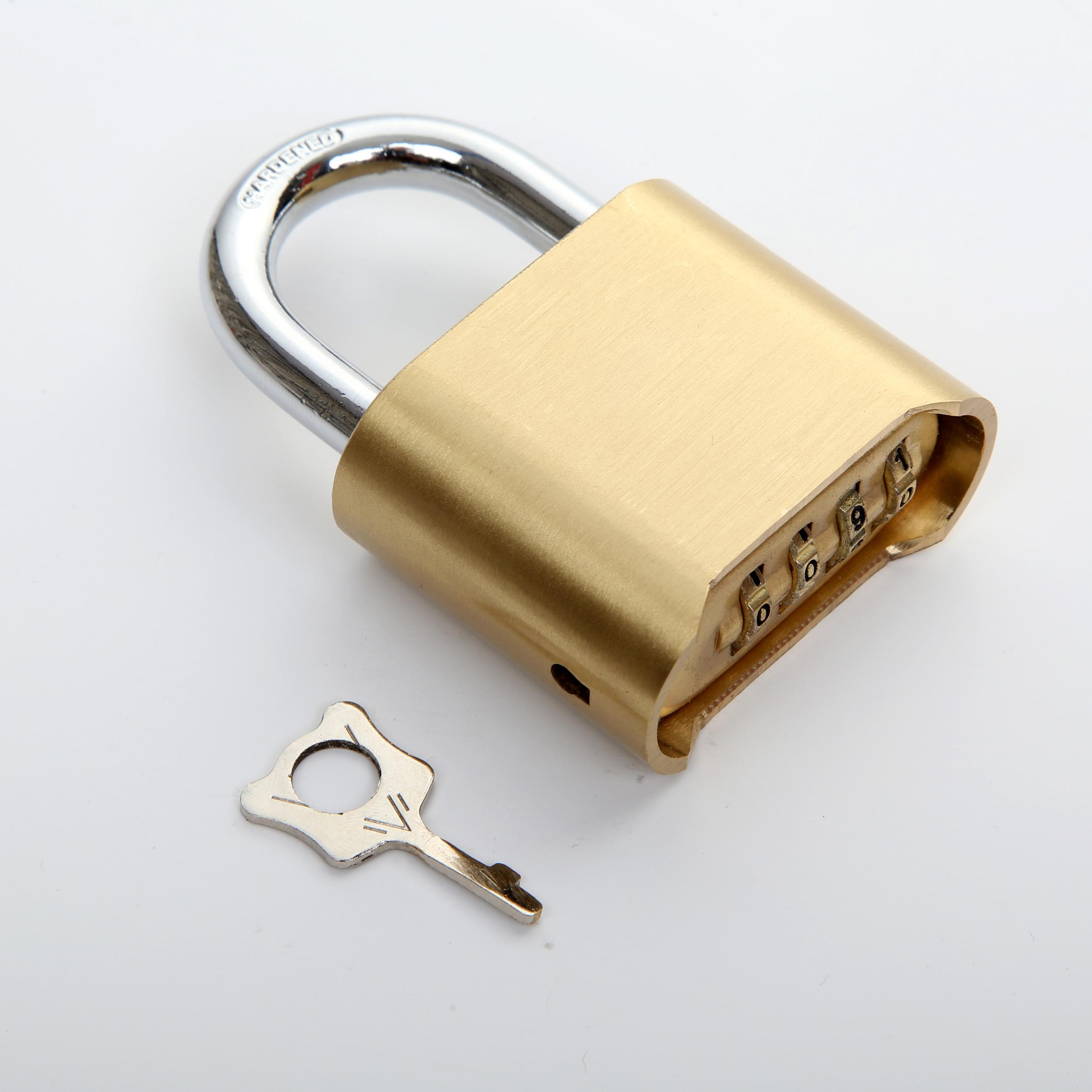 50mm Brass Combination Padlock (1621)