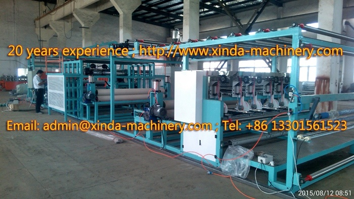 Carpet Coating TPR Machinery