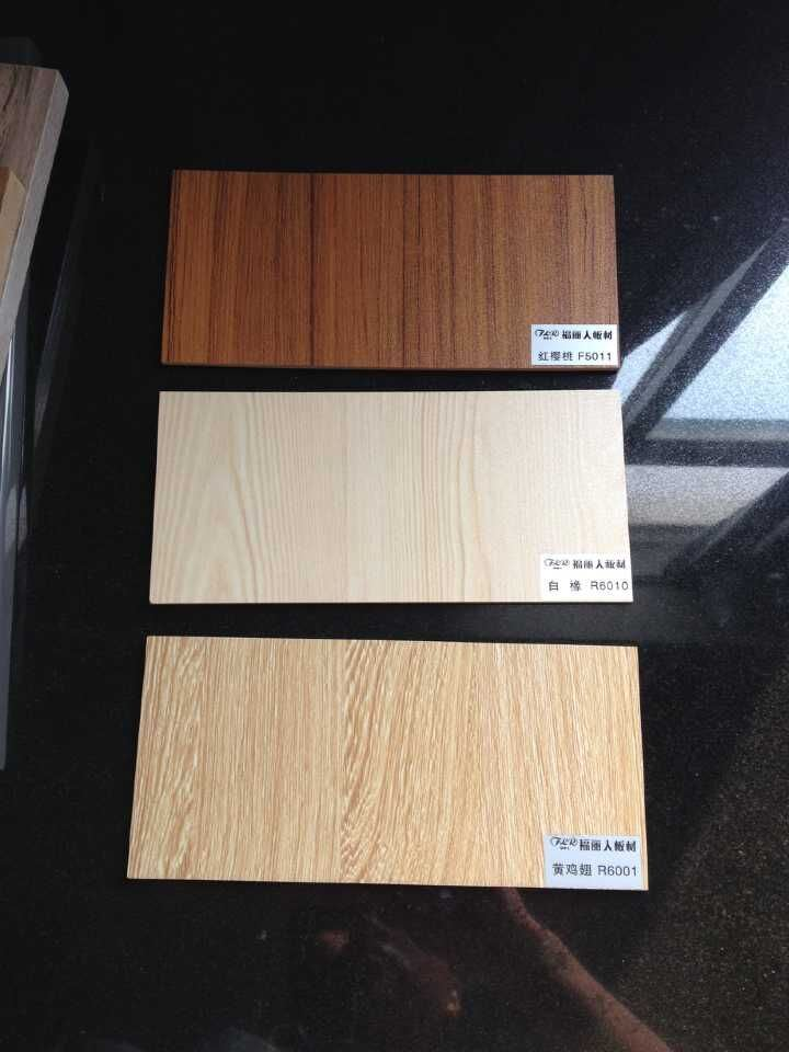 MDF Wood Covering with Artificial Veneer Cabinets Doors