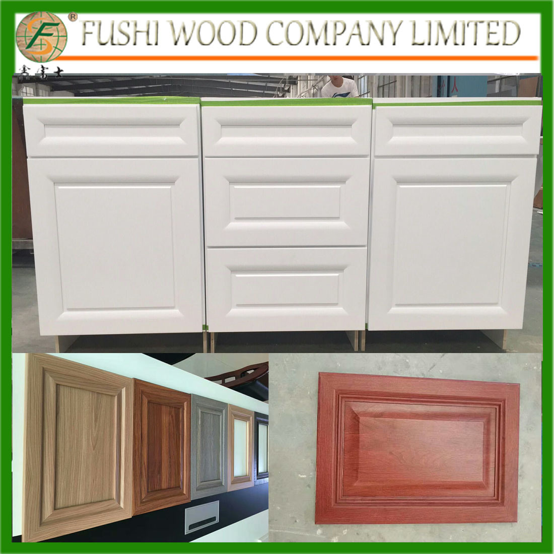 Kitchen Cabinet - Shandong Fushi Wood Co., Ltd. - page 1.