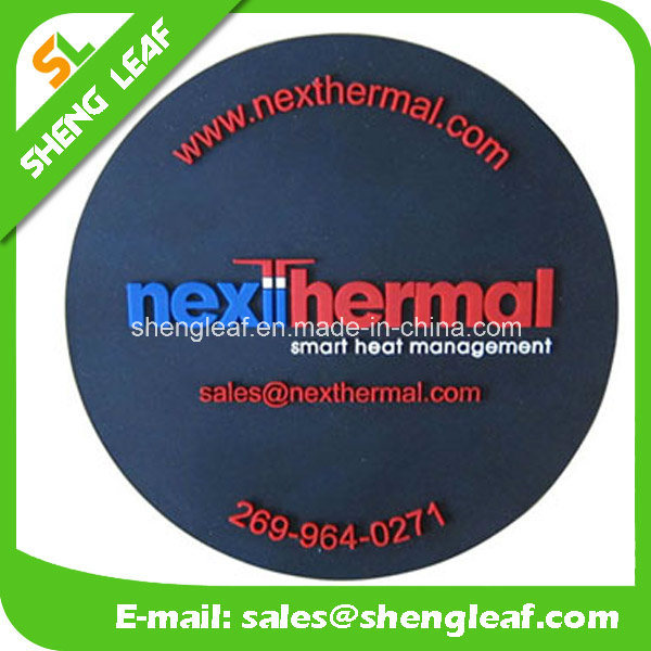 Householder Custom 3D Silicone Coaster with Customized Logo (SLF-RC017)