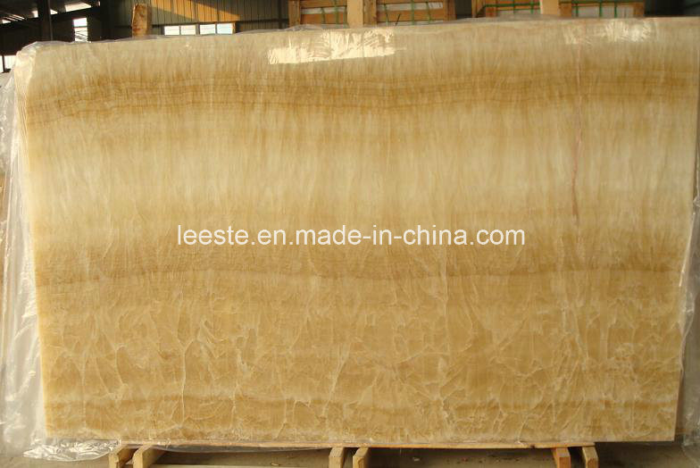 The Best Price China Yellow Honey Onyx Marble Tile