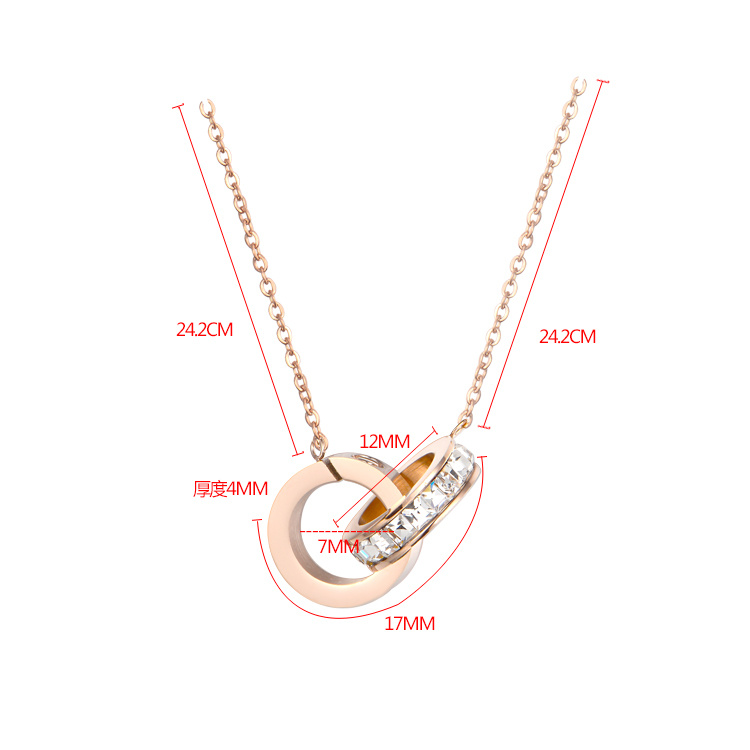 Fashion Accessories Pendant Stainless Steel Necklace