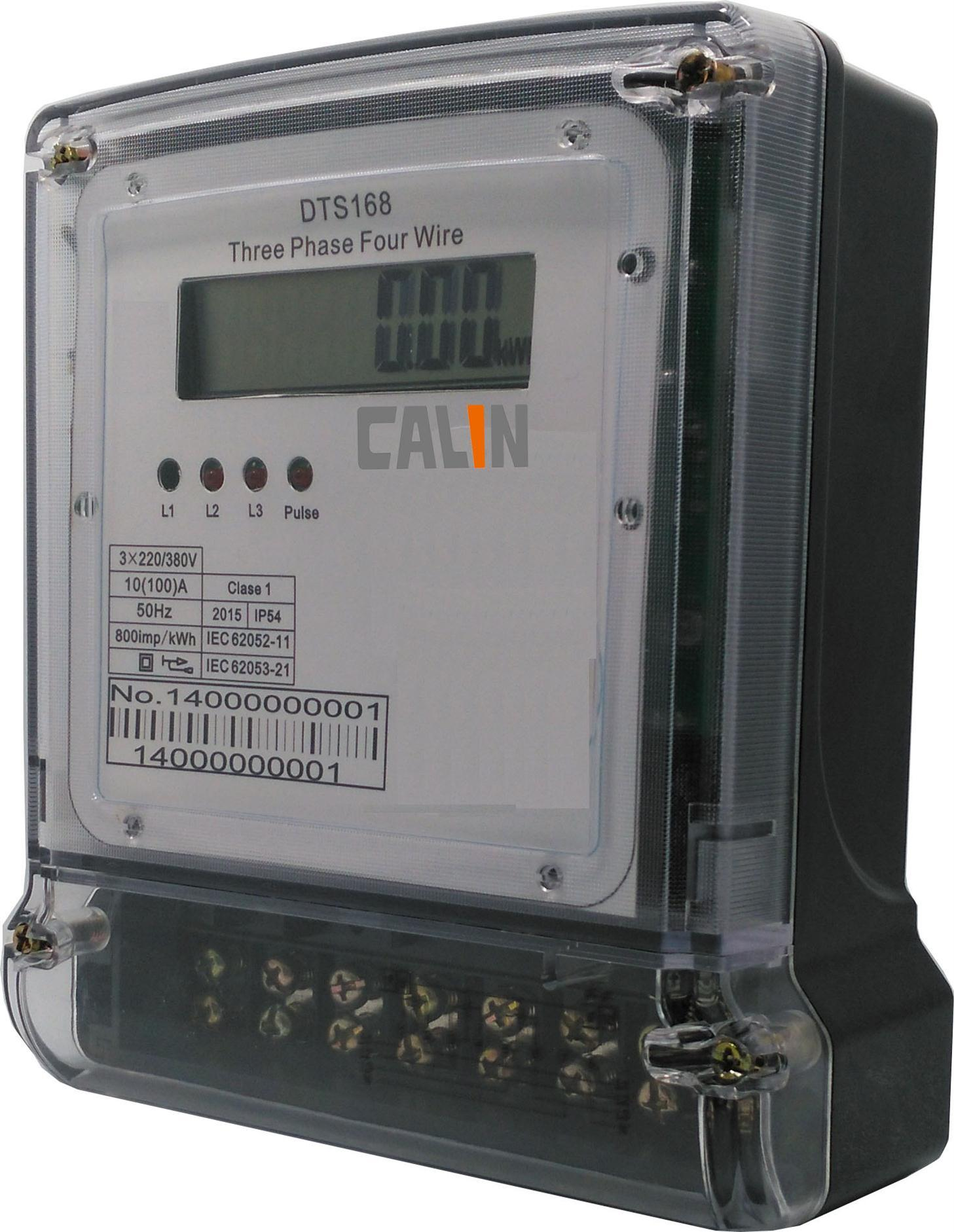 Three Phase Four Wires Multifunction Energy Meter