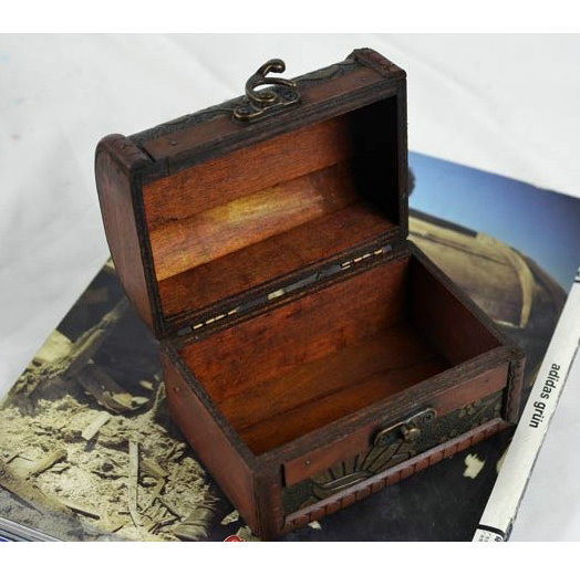Chinese Wooden Jewelry Box Bx-48