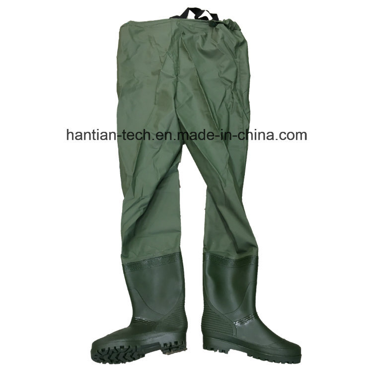 Waterproof Breathable PVC Chest Fishing Wader