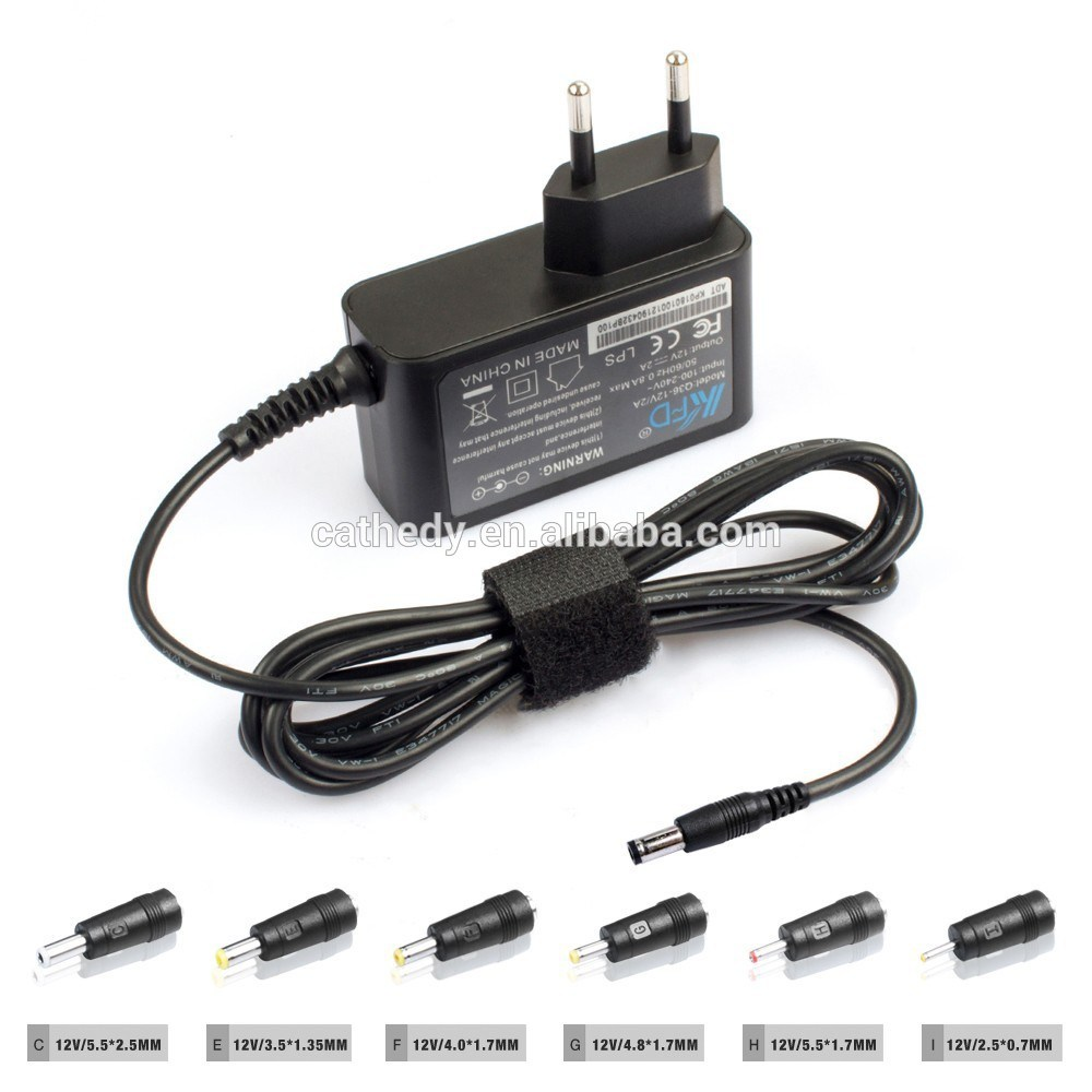 Universal 12V2a AC Adappter for Sweeper, LED CCTV...Switching Power Adapter