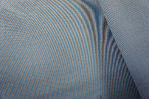 Two Colors Twill Wool Fabric