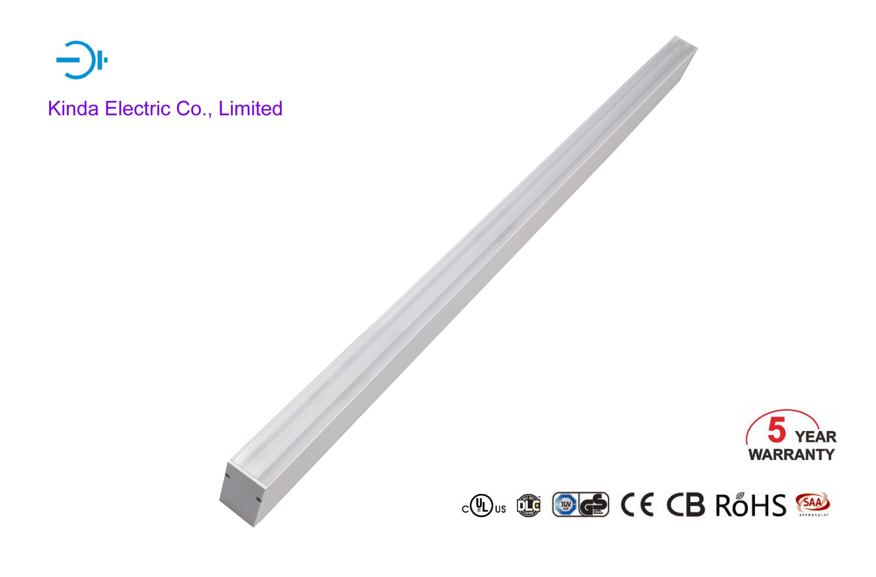 Surface Mounted/Pendent/Wall Mounted 5 Years Warranty 40W SMD3030 Compatible to 0-10V Dali LED Linear Light Lighting with UL Ce SAA RoHS