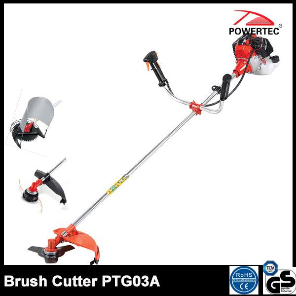 Powertec 43cc Gasoline Brush Cutter Ptg03A
