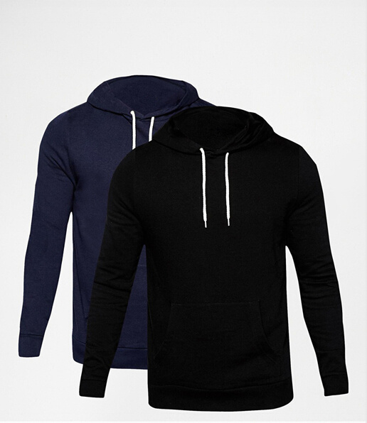 2016 Factory Wholesale Fashion Man Cotton Pullover Hoody