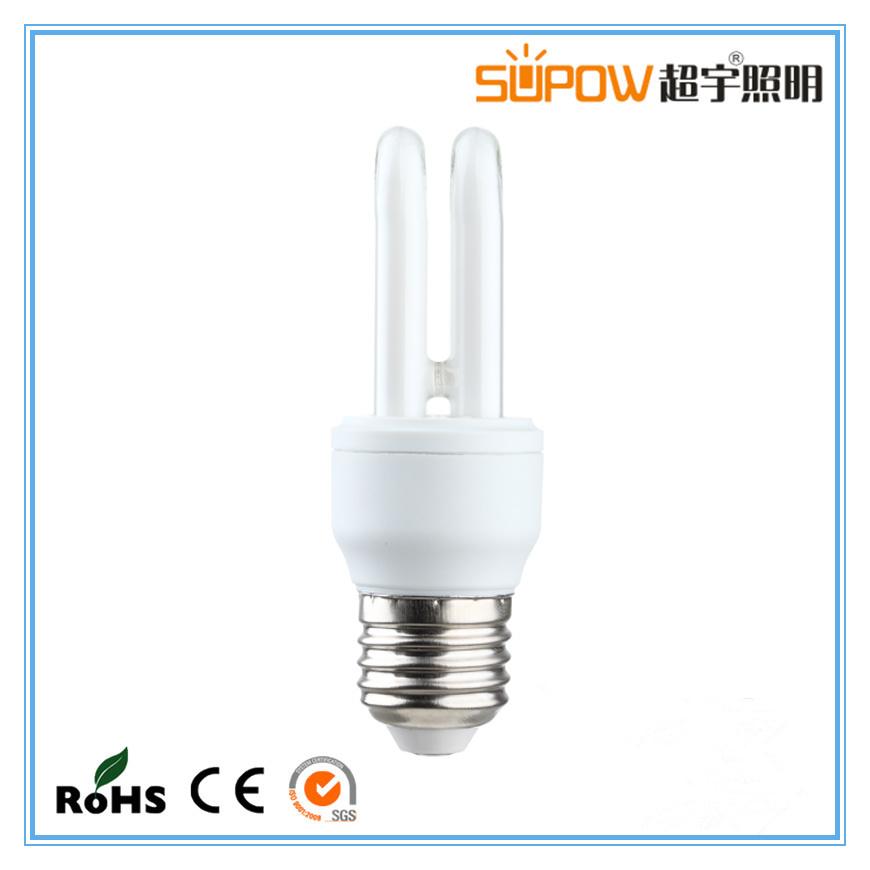 2u 7W Energy Saving Lamp