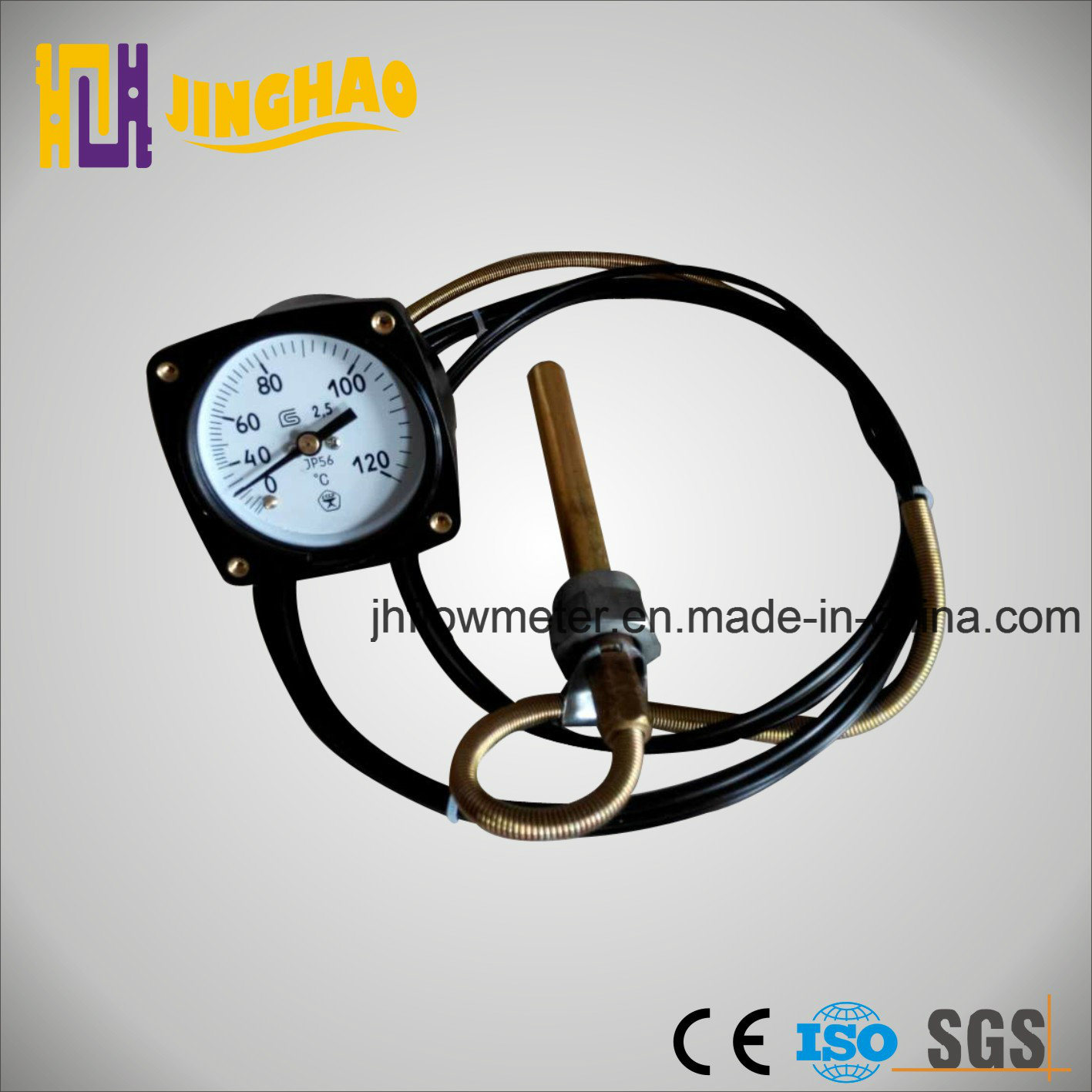 Capillary Thermometer for Oil (JH-TKP-60)