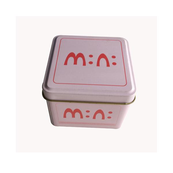 Square Shape Custom Tin Food Packaging Tin Box Promotion Gift Wholesale
