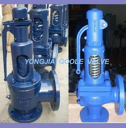 Steam Spring Loaded Pressure Safety Relief Valve (GA900)