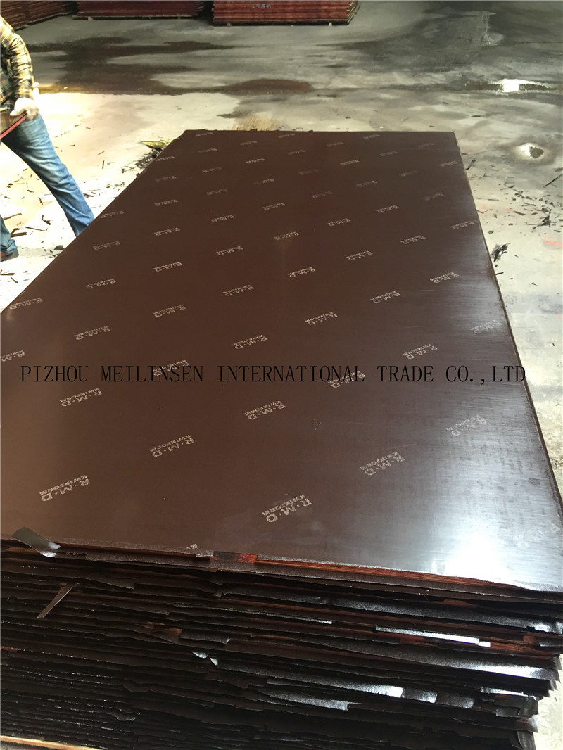 Building Material Film Faced Plywood with Logo
