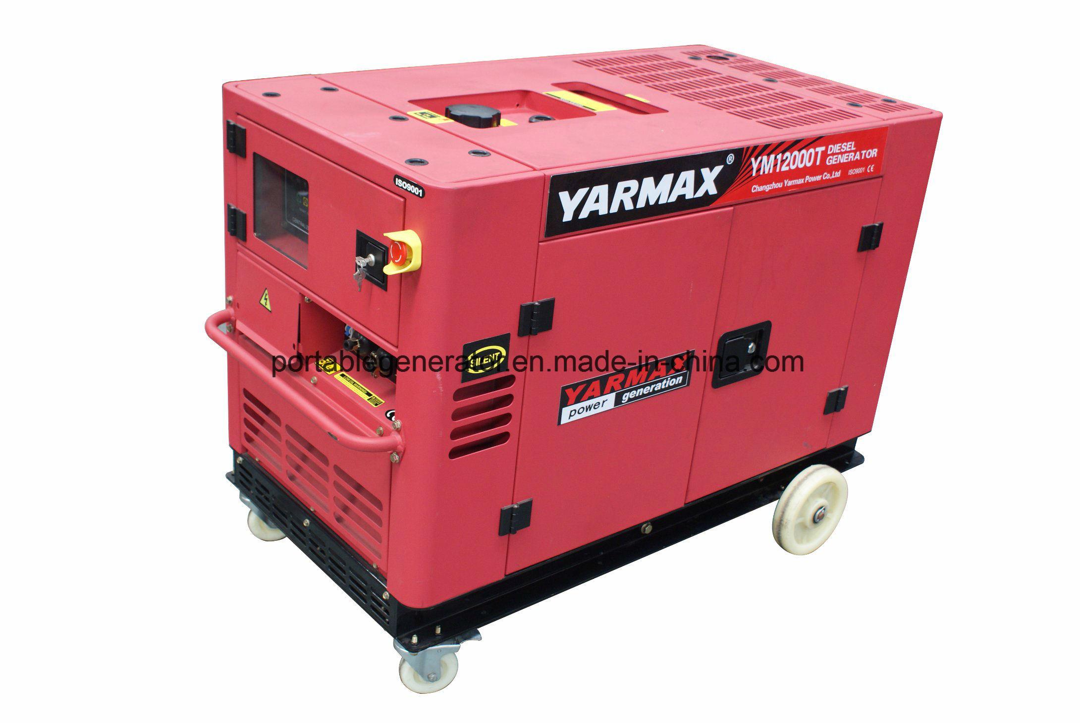 China Yarmax 3 Phase Diesel Generator Set 12kw Generator Diesel